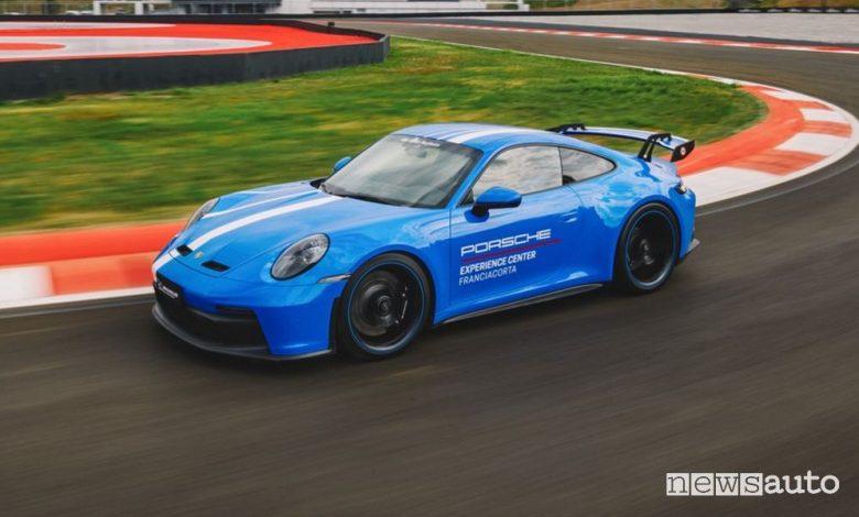 La pista del Porsche Experience Center di Franciacorta