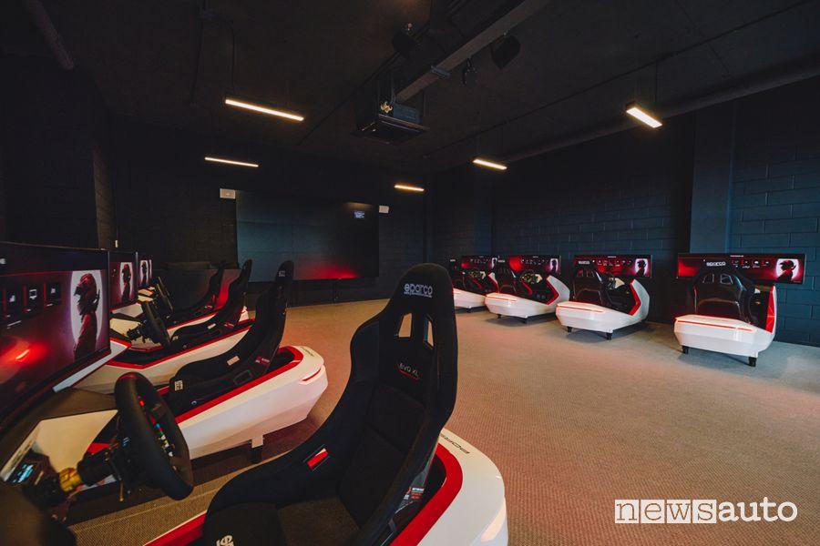 Simulation Lab Porsche Experience Center di Franciacorta