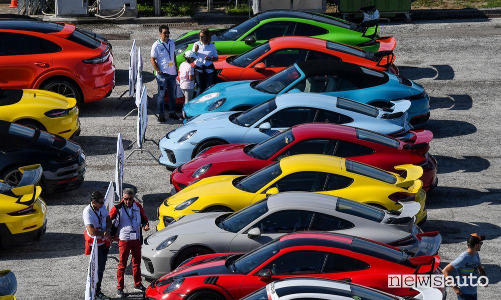 Porsche Festival 2021, Porsche raduno esposizione