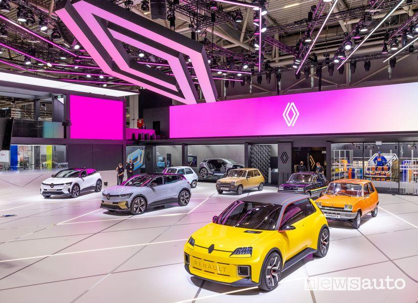 Renault 5Prototype nello stand Renault al Salone di Monaco IAA 2021