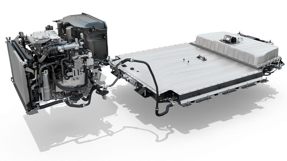Motore e batteria nuova Renault Mégane E-TECH Electric