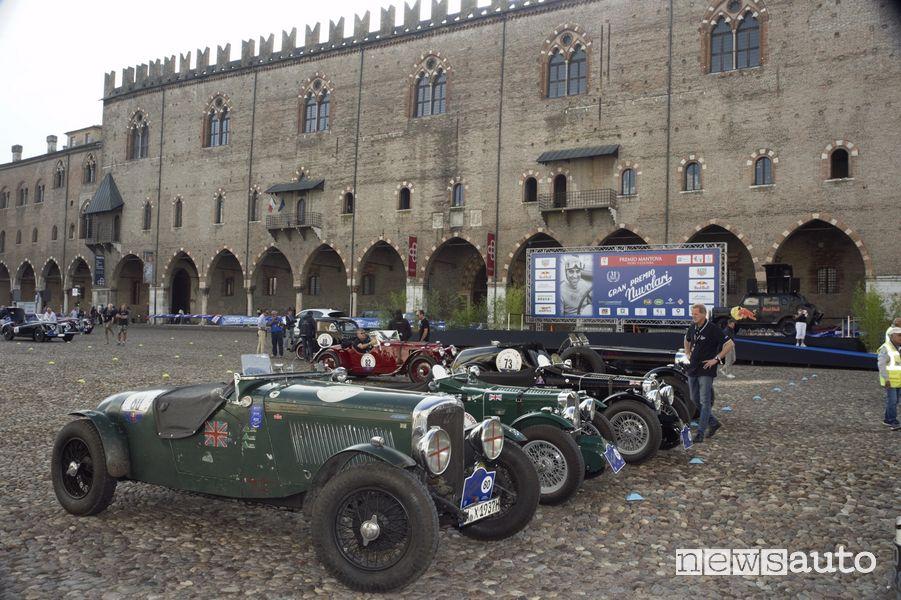 Mantova partenza Gp Nuvolari 2021