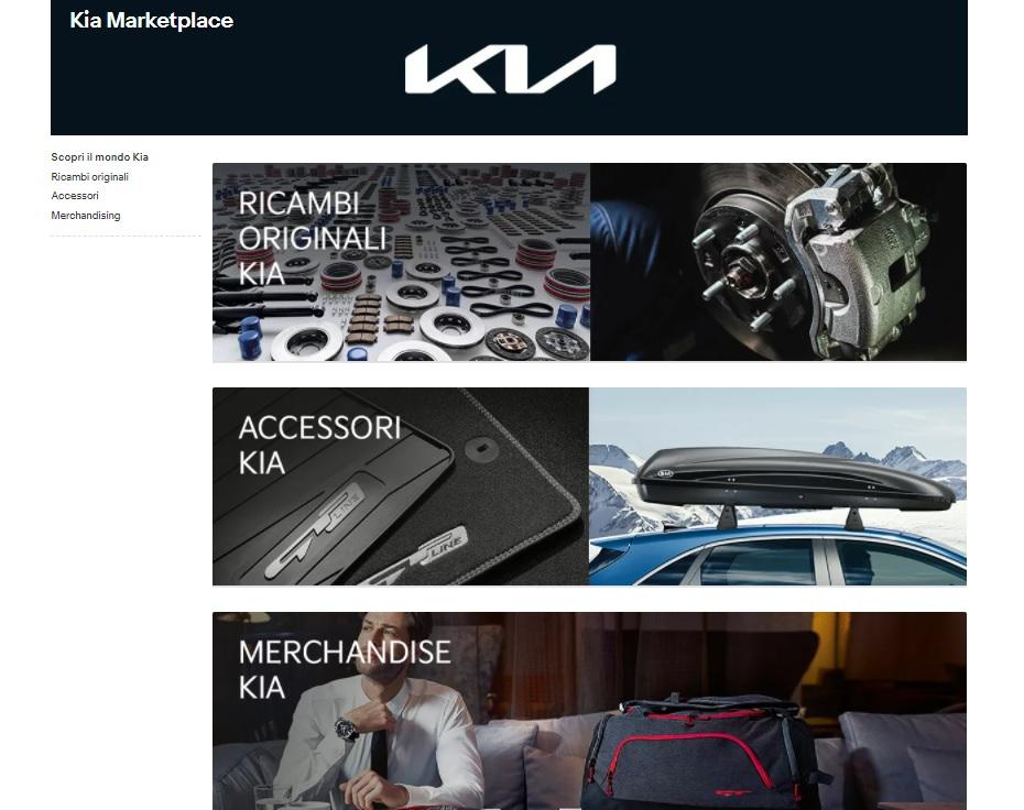 Negozio online accessori, ricambi e merchandise Kia su eBay
