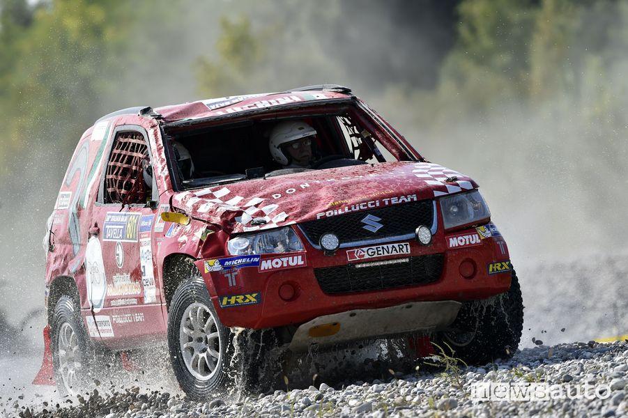 Italian Baja 2021 Andrea Luchini con la Suzuki Gran Vitara ha vinto il Gruppo T2