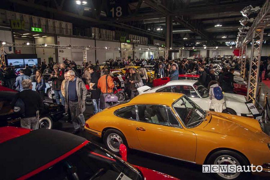 Milano AutoClassica esposizione auto storiche classiche e Youngtimer