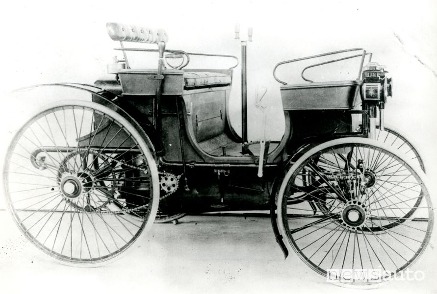 Type 3 prima auto venduta da Peugeot nel 1891