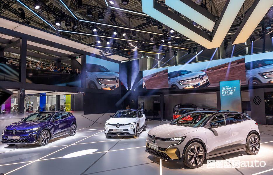 Prima mondiale della Mégane E-Tech Electric al Salone di Monaco IAA 2021