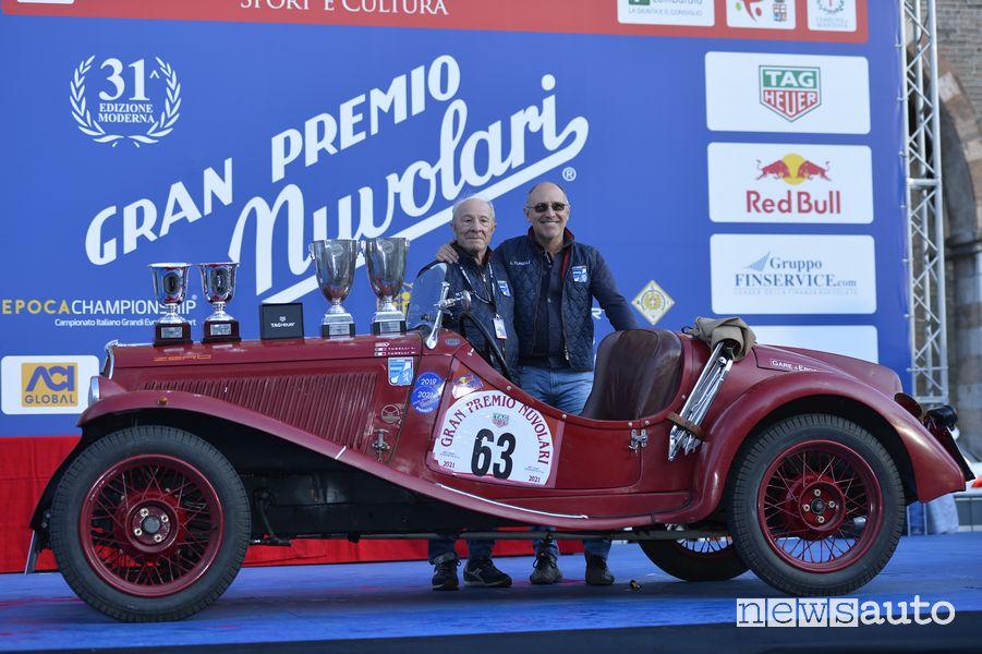 FIAT 508 S Sport Coppa d'Oro del 1934 Lorenzo e Mario Turelli i vincitori del Gp Nuvolari 2021