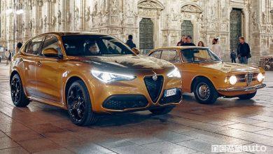 Nuova serie speciale Alfa Romeo Stelvio GT Junior e Giulia 1300 Junior