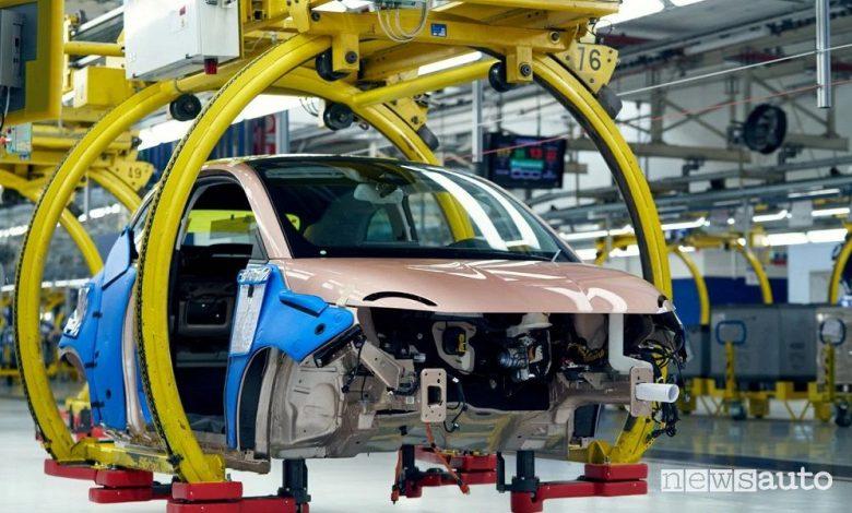 Produzione di auto elettriche, a Torino Mirafiori