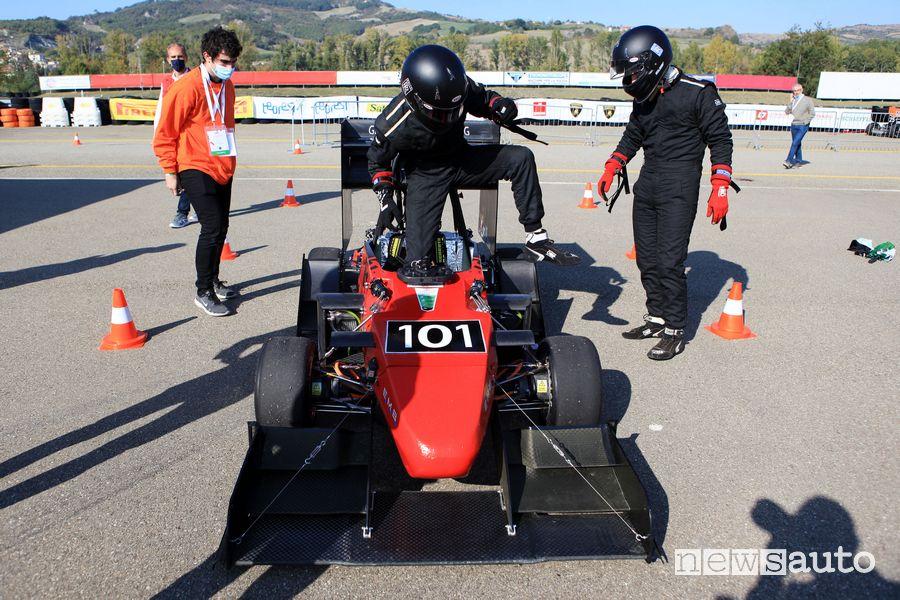 Formula SAE Italy 2021 cambio pilota