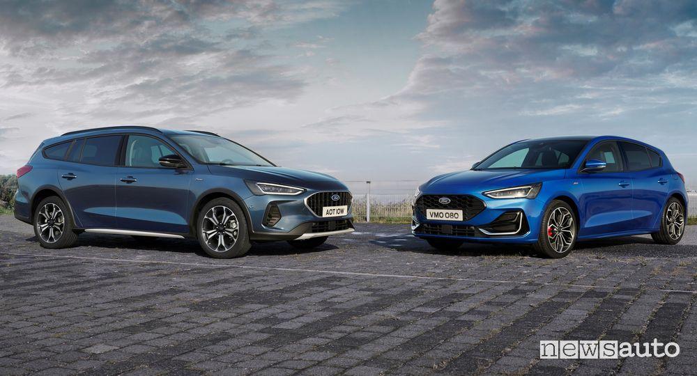 Nuova Ford Focus Active e ST Line