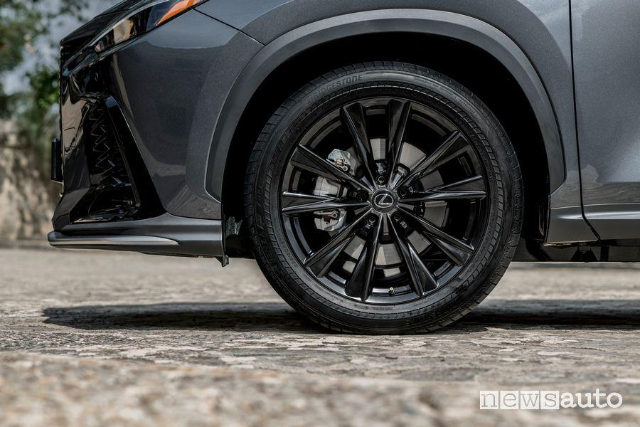 Cerchi in lega nuova Lexus NX 450h+