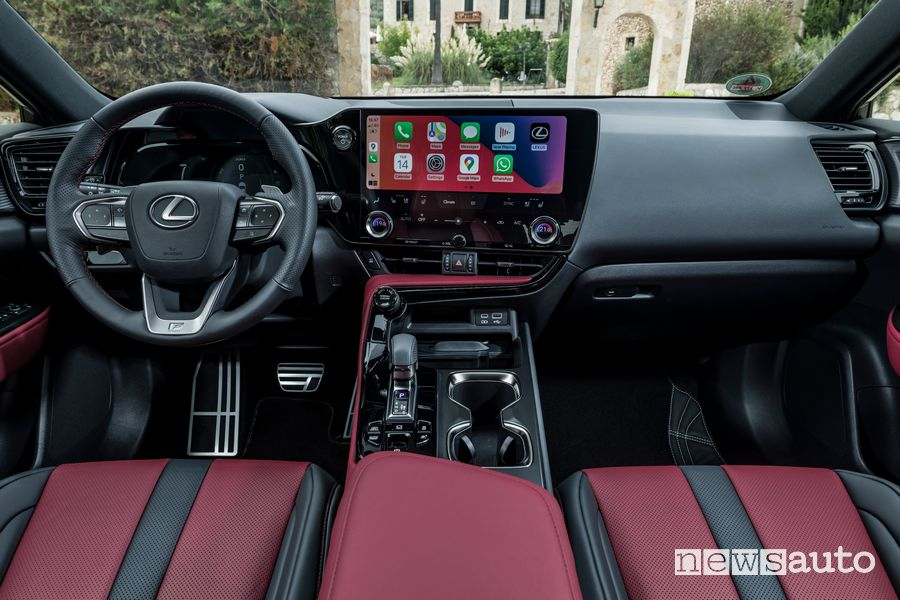 Plancia strumenti abitacolo nuova Lexus NX 450h+