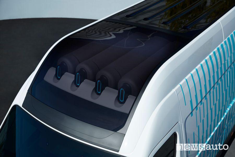 Bombole idrogeno fuel cell Renault Master Van H2-TECH