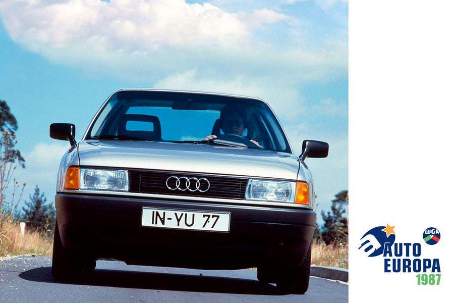 Audi 80 prima Auto Europa nel 1987