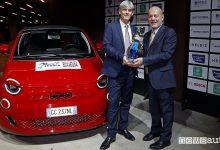 Fiat Nuova 500 elettrica, premio Auto Europa 2022