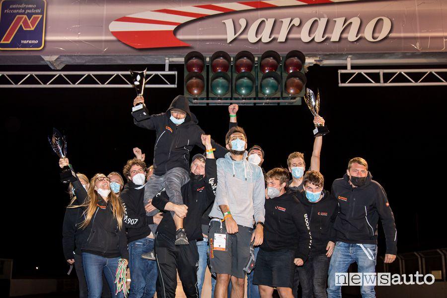 Studenti vincitori Classe 1D Formula SAE Italy 2021